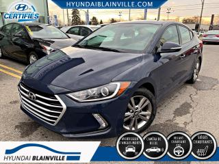 Used 2017 Hyundai Elantra GL APPLE CARPLAY, ANDROID AUTO, VOLANT C for sale in Blainville, QC
