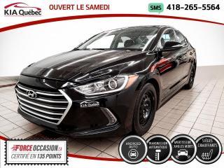 Used 2017 Hyundai Elantra GL* AT* CARPLAY* CAMERA* SIEGES CHAUFFAN for sale in Québec, QC