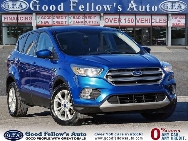 2017 Ford Escape SE MODEL, 1.5L ECO, REARVIEW CAMERA, HEATED SEATS