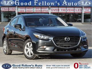 Used 2018 Mazda MAZDA3 GX MODEL, SKYACTIV, REARVIEW CAMERA, 2.0L 4CYL for sale in Toronto, ON