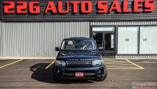 Used 2013 Land Rover Range Rover Sport HSE LUX|ACCIDENT FREE|LEATHER/|NAV for sale in Brampton, ON