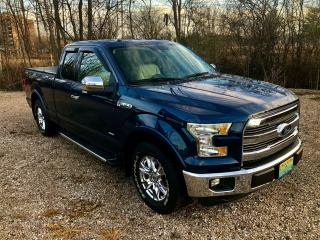 Used 2015 Ford F-150 Lariat Only 61800 km $133 Weekly for sale in Perth, ON