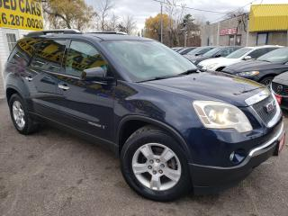 Used 2007 GMC Acadia SLE/7 Seater/DVD/ALLOYS/Tinted Windows/Alloy Rims for sale in Scarborough, ON