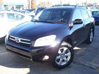 Used 2007 Toyota RAV4 Limited,AWD,SUNROOF,ALLOYS,FOG LIGHTS,CERTIFIED for sale in Kitchener, ON