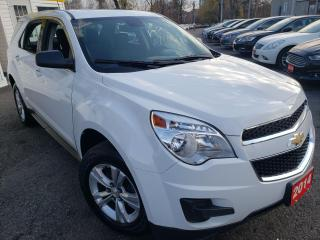 Used 2014 Chevrolet Equinox LS/AWD/ALLOYS/BLUETOOTH/CRUISE CONTROL/ALLOY for sale in Scarborough, ON