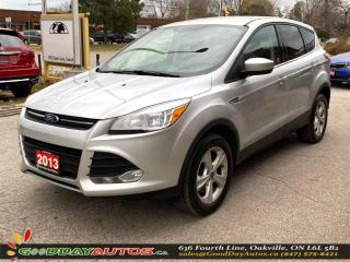 Used 2013 Ford Escape SE|LOW KM|NO ACCIDENT|4WD|BLUETOOTH|CERTIFIED for sale in Oakville, ON