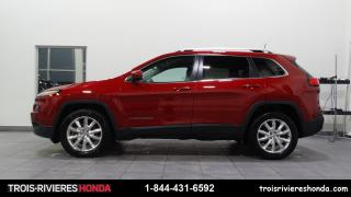 Used 2016 Jeep Cherokee LIMITED + AWD + CUIR + ATTACHE REMOMRQUE for sale in Trois-Rivières, QC
