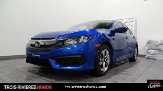 Used 2018 Honda Civic LX + HONDA SENSING + BLUETOOTH + CAMERA for sale in Trois-Rivières, QC