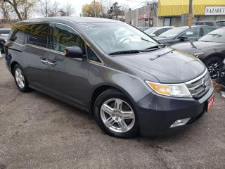 Used 2011 Honda Odyssey Touring/NAVI/R.CAM/DVD/LEATHER/ROOF/ALLOYS/8PASS for sale in Scarborough, ON