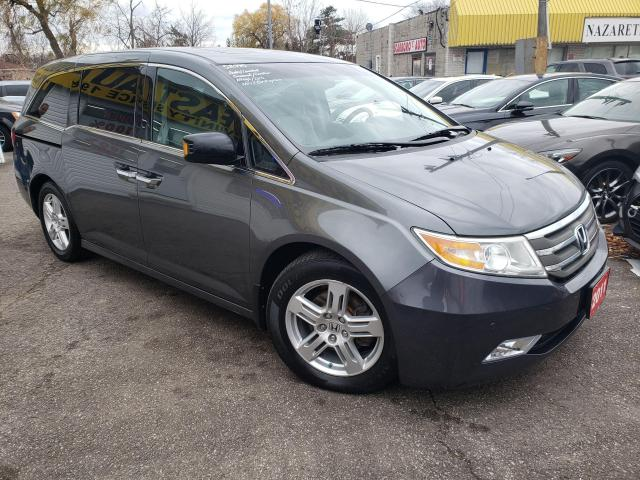 2011 Honda Odyssey Touring/NAVI/R.CAM/DVD/LEATHER/ROOF/ALLOYS/8PASS