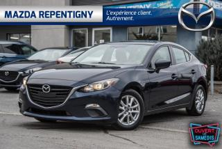 Used 2016 Mazda MAZDA3 Berline 4 portes, boîte manuelle, GS for sale in Repentigny, QC