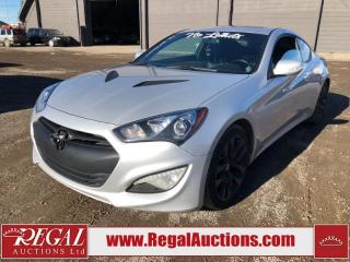 Used 2015 Hyundai Genesis GT 2D COUPE 3.8L for sale in Calgary, AB