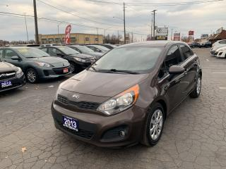 Used 2013 Kia Rio LX+ ECO for sale in Hamilton, ON