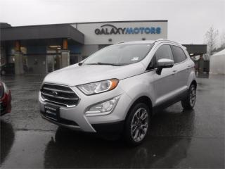 Used 2020 Ford EcoSport TITANIUM-NAV, 4X4, LEATHER for sale in Duncan, BC