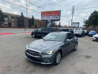 Used 2014 Infiniti Q50 Sport for sale in Toronto, ON