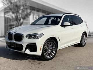 Used 2021 BMW X3 xDrive30i Employee Lease! M Sport! Almost New! for sale in Winnipeg, MB
