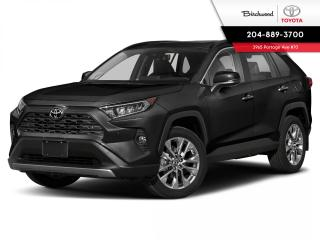 New 2021 Toyota RAV4 Limited STANDARD PKG for sale in Winnipeg, MB