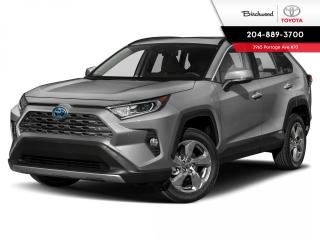 New 2021 Toyota RAV4 Hybrid Limited STANDARD PKG for sale in Winnipeg, MB