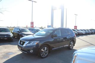 Used 2015 Nissan Pathfinder 3.5L SL for sale in Whitby, ON