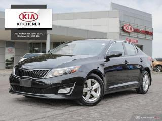 Used 2015 Kia Optima LX at - CARFAX CLEAN for sale in Kitchener, ON