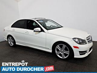 Used 2012 Mercedes-Benz C-Class C 250 AWS NAVIGATION - Toit Ouvrant - A/C - CUIR for sale in Laval, QC