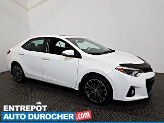 Used 2015 Toyota Corolla S Automatique - TOIT OUVRANT - A/C - Cuir for sale in Laval, QC