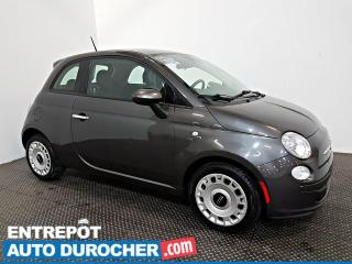 Used 2015 Fiat 500 Pop AIR CLIMATISÉ - Groupe Électrique for sale in Laval, QC
