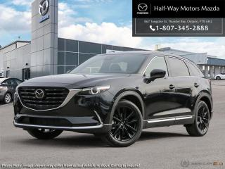 New 2021 Mazda CX-9 Kuro Edition for sale in Thunder Bay, ON