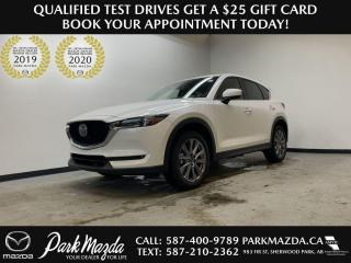 New 2021 Mazda CX-5 GT for sale in Sherwood Park, AB