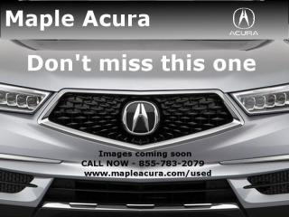 Used 2018 Acura RDX Elite, One Owner, No Accidents, Acura Certified for sale in Maple, ON