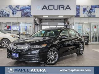 Used 2015 Acura TLX V6 Tech, Navigation, No Accidents for sale in Maple, ON