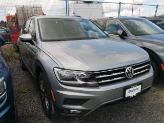 New 2020 Volkswagen Tiguan 2.0T COMFORT 8SPA 4M for sale in Coquitlam, BC