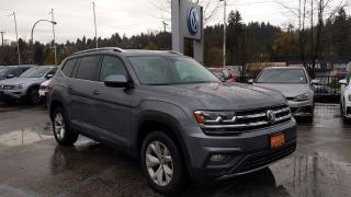 Used 2018 Volkswagen Atlas Comfortline 3.6L 8sp at w/Tip 4MOTION for sale in Coquitlam, BC