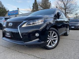 Used 2015 Lexus RX 350 AWD 4dr|BLINDSPOT|NAVI|BACKUP|Heated wheel for sale in Brampton, ON