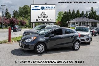 Used 2014 Kia Rio Hatchback 6-Speed Manual, Fuel Efficient, 173k, Cheap! for sale in Surrey, BC