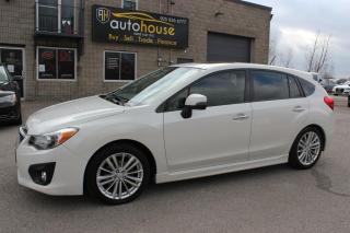 Used 2014 Subaru Impreza MANUAL / 2.0i / LIMITED / NAVIGATION / LEATHER / BACK CAMERA for sale in Newmarket, ON