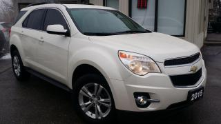 Used 2015 Chevrolet Equinox 2LT 2WD - LEATHER! NAVIGATION! BACK-UP CAM! REMOTE START! for sale in Kitchener, ON