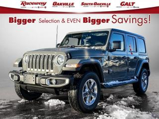 New 2021 Jeep Wrangler Unlimited Sahara for sale in Etobicoke, ON