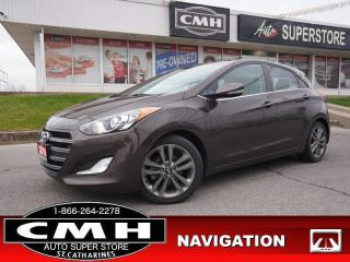 Used 2016 Hyundai Elantra GT Limited  NAV CAM PANO LEATH HTD-SEATS for sale in St. Catharines, ON