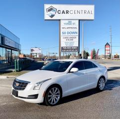 Used 2015 Cadillac ATS LUXURY | AWD | BACKUP CAM | NAV | BOSE | REMOTE START | for sale in Barrie, ON