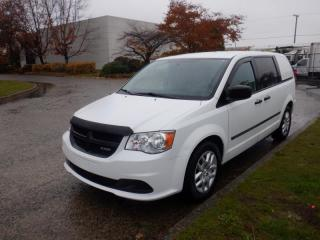Used 2015 Ram Tradesman Cargo Van With Rear Shelving for sale in Burnaby, BC