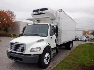 Used 2015 Freightliner M2106 22 Foot Diesel Cube Van with Reefer for sale in Burnaby, BC