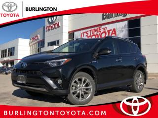 Used 2016 Toyota RAV4 Hybrid Limited for sale in Burlington, ON
