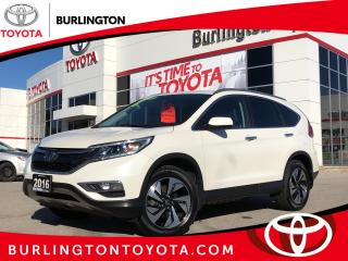 Used 2016 Honda CR-V Touring for sale in Burlington, ON