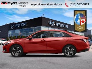 New 2021 Hyundai Elantra Preferred w/Sun & Tech Package IVT  - $186 B/W for sale in Kanata, ON