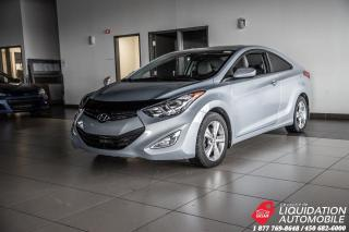 Used 2013 Hyundai Elantra Coupe GLS+TOIT+MAGS+BLUETHOOTH+GR.ELECT for sale in Laval, QC