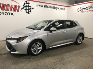 Used 2019 Toyota Corolla Hatchback CVT, SE for sale in St-Hubert, QC