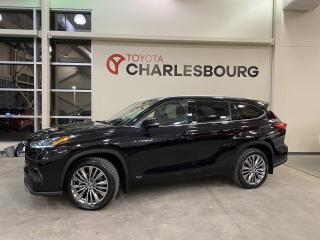 Used 2021 Toyota Highlander Platinum - AWD - Hybride for sale in Québec, QC