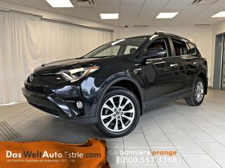 Used 2017 Toyota RAV4 Hybrid AWD, Limited, Cuir, Toit, Automatique for sale in Sherbrooke, QC