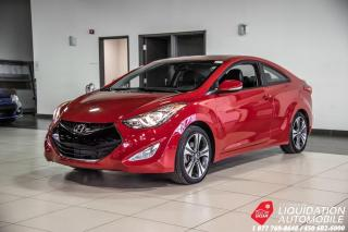 Used 2013 Hyundai Elantra Coupe TOIT+MAGS+PUSHSTART+CUIR+BLUETHOOTH for sale in Laval, QC